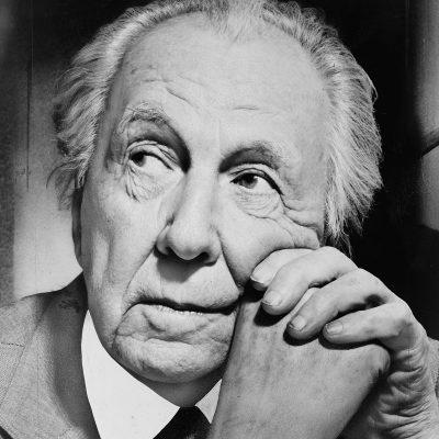有名な建築家、フランク・ロイド・ライト
