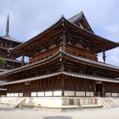 奈良・法隆寺の建築